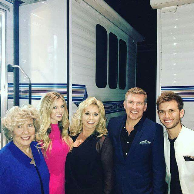 Todd & Julie Chrisley With Daughter Lindsie &Chase Chrisley With Ms. Faye