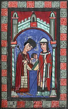 Henry V (1086 - 1125). Holy Roman Emperor from 1105 to his death in 1125. He was the last of the Salian Emperors.