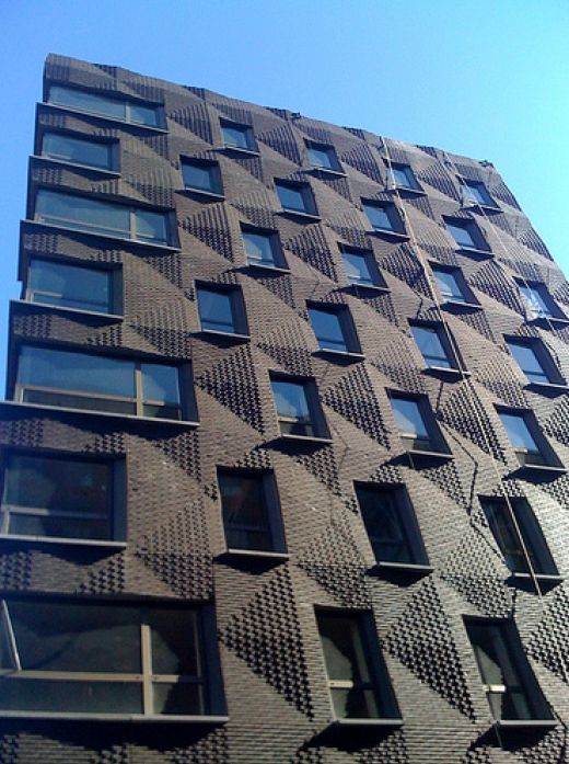 Modern Brick Apartment Building 90 best material_brick images on pinterest | brick facade, brick