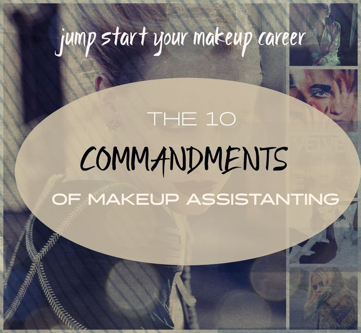 Have you ever wondered what it takes to become a makeup artist? First rule is to assist!  But what are the rules of being a makeup artist assistant and what are your roles?  Glossarist Tara Pagliara tells us the 10 Commandments of Makeup Assisting...and how following these simple rules will put your career on the fast track.....