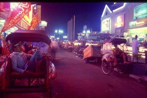 Malioboro , when there are mostly Becak n Bicycles around ...
