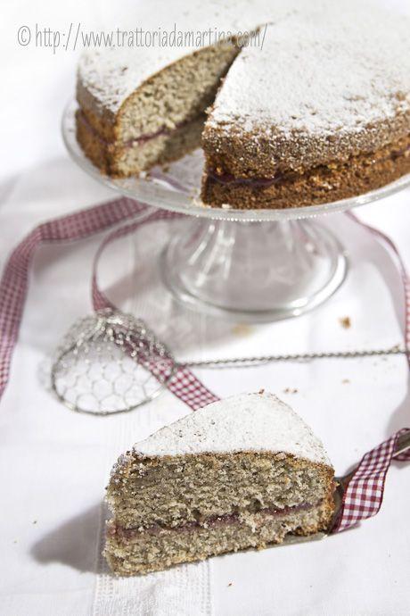Torta di grano saraceno: la fetta