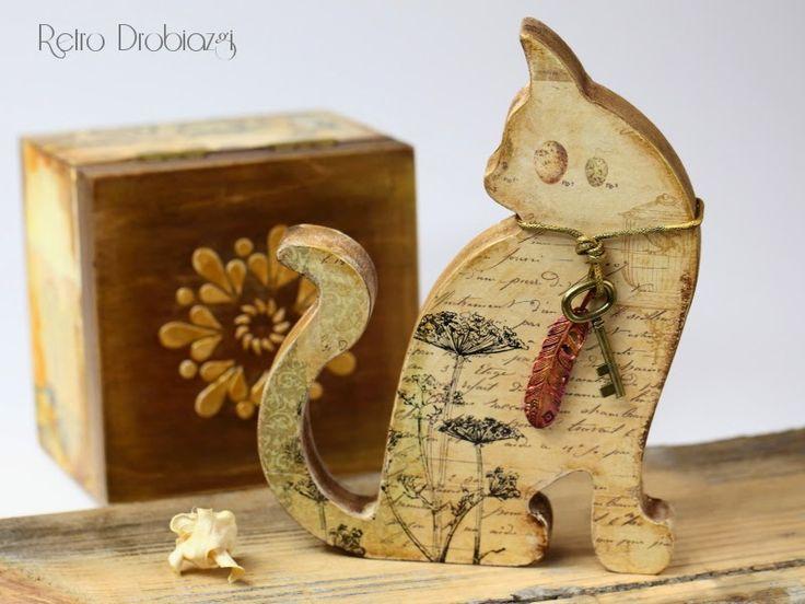 - Ретро Часы - Craft Workshop - декупаж и скрапбукинг