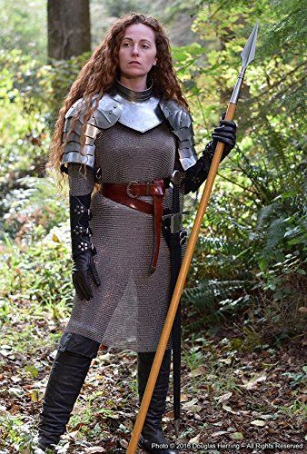 Medieval warrior chainmail shirt gothic gorget with pauld... https://www.amazon.co.jp/dp/B079BKP4VZ/ref=cm_sw_r_pi_dp_U_x_hS.BAbKYYBZ8X