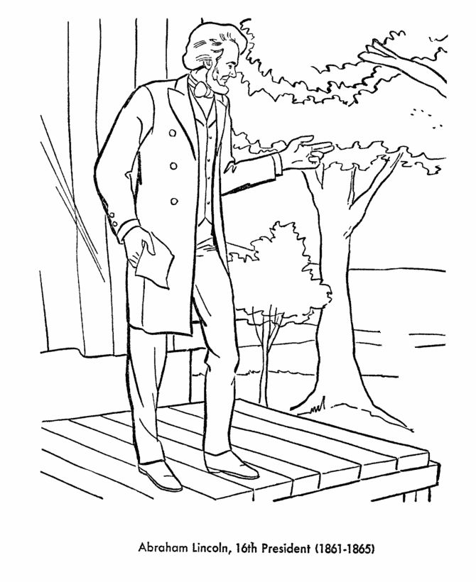 all 44 presidents coloring pages - photo#20