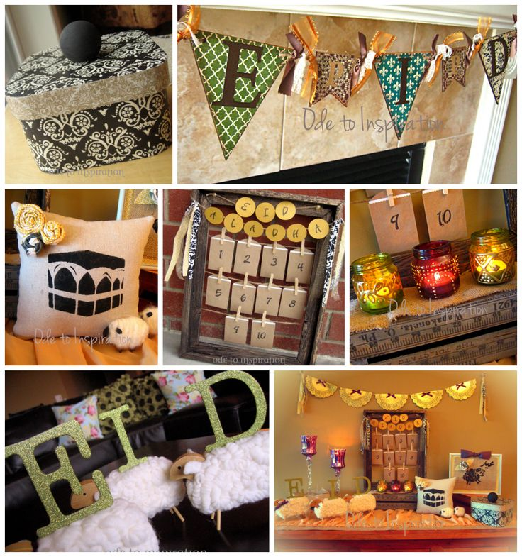 Eid al-Adha Decorations #budgettravel #travel #diy #craft #holiday #holidays #Thanksgiving #Halloween #Christmas #Hanukkah #Chanukah #Eid #Kwanzaa #winter www.budgettravel.com