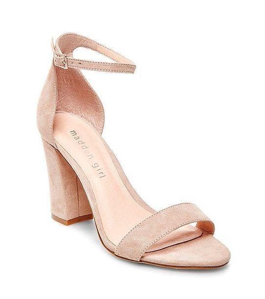 c90afa7264e Steve Madden - Madden Girl Nude Heels - Size 7 (Beella Sandal ...