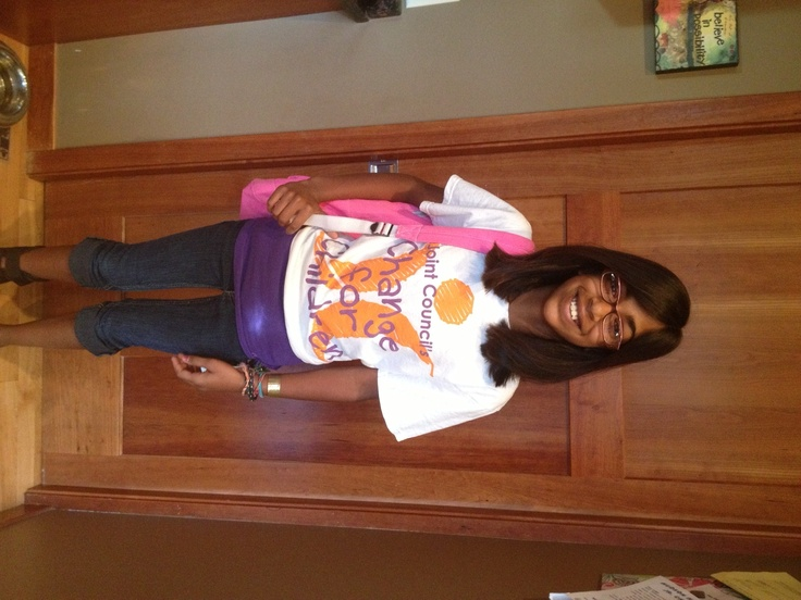 Make Change for Children supporter Emerson of Hudson, WI heads off to school
