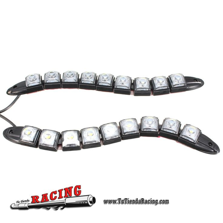 2X Tiras de Luces LED Diurnas de 6 8 9 12 14 16 LEDs Ultra Brillantes DRL DC-12V para Coche - 10,34€ - TUTIENDARACING - ENVÍO GRATUITO EN TODAS TUS COMPRAS