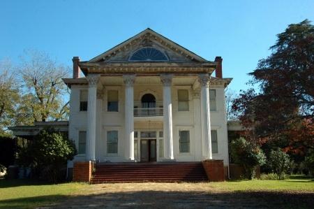 the house on literary hill, montezuma, georgia