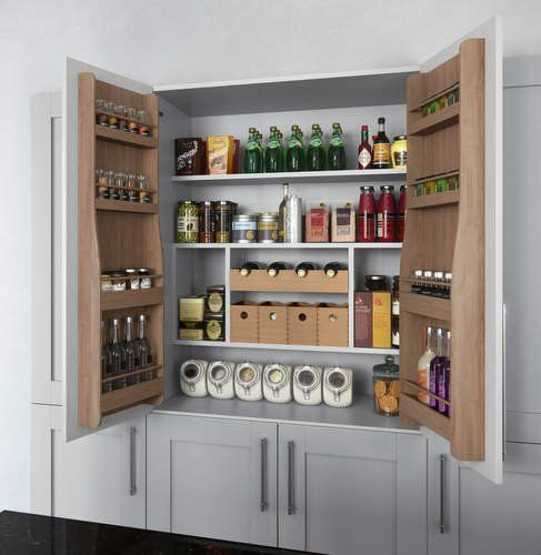 Virginia-Pantry-Larder-Unit-Cameo Mereway Hampshire Kitchen