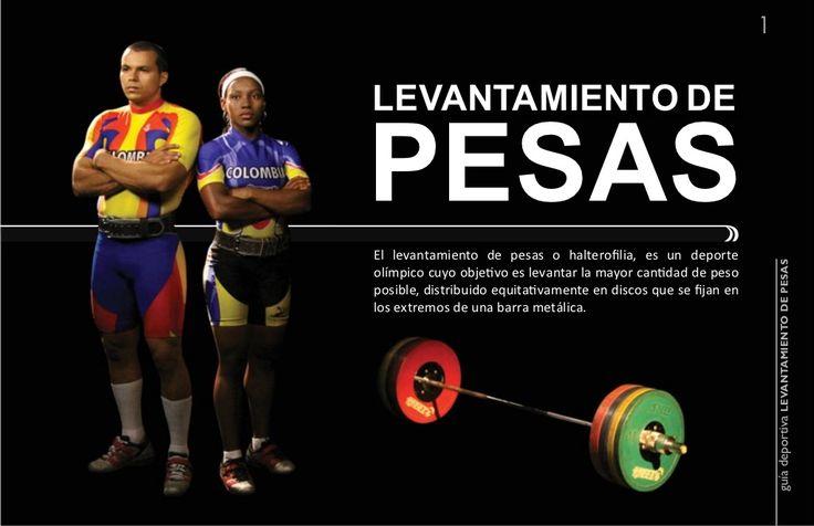 1levantamiento depesasEl levantamiento de pesas o halterofilia, es un deporte                                             ...
