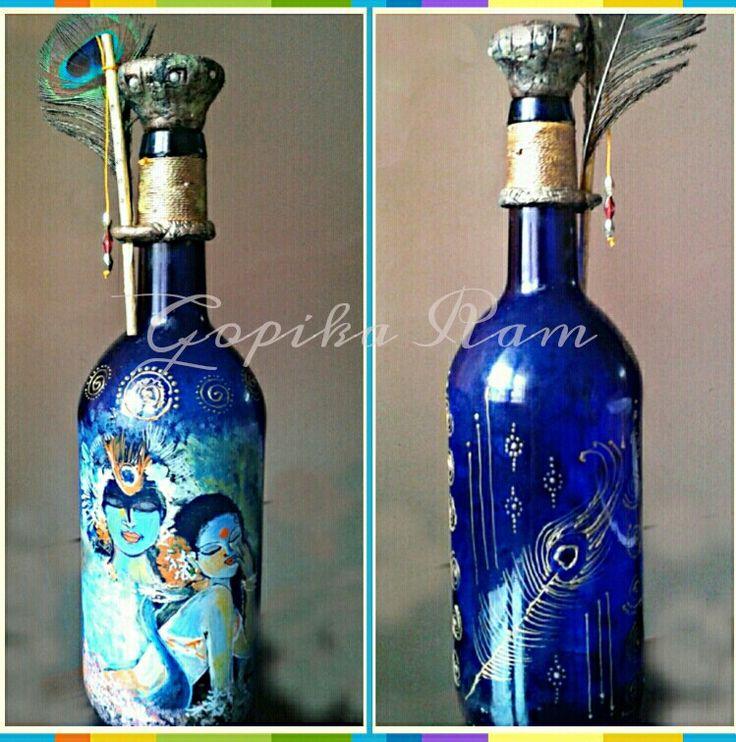 Altered bottle series - The Eternal love..