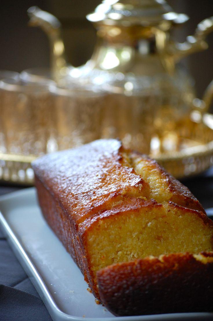 Cake aux agrumes imbibes