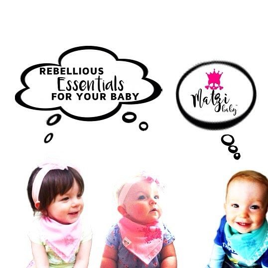Those cuties totally want you to have a @matzibaby bib! They are rebelliously awesome and versatile 3-in-1. #babybandanabib #babyscarf #babybib #babybandana #babygirl #babyboy #instababy #octopus #babyshower #cutebaby #matzibaby #rebelliousbaby #punxbaby #punkbaby #rockbaby #rebellious #screenprint #anarchy #octopus #anchor #nauticalbib #babyhipster #babyriot by matzibaby