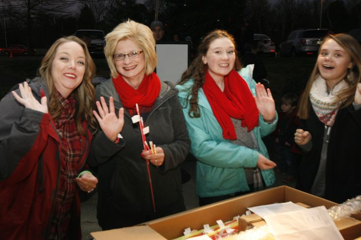Family fun at the 2015 Light the Park event
