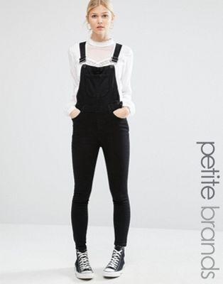 New Look Petite Denim Overall