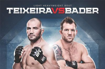 Check out Bloody Elbows article on the UFC Fight Night Teixeira vs. Bader fight card primers, get all the details on the event, that is live from Brazil.