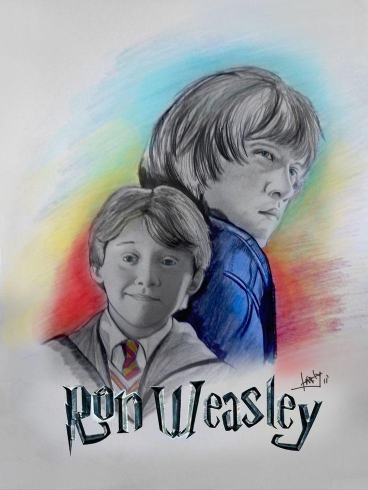 https://flic.kr/p/a64gvY   ron weasley   fan art ron wesley
