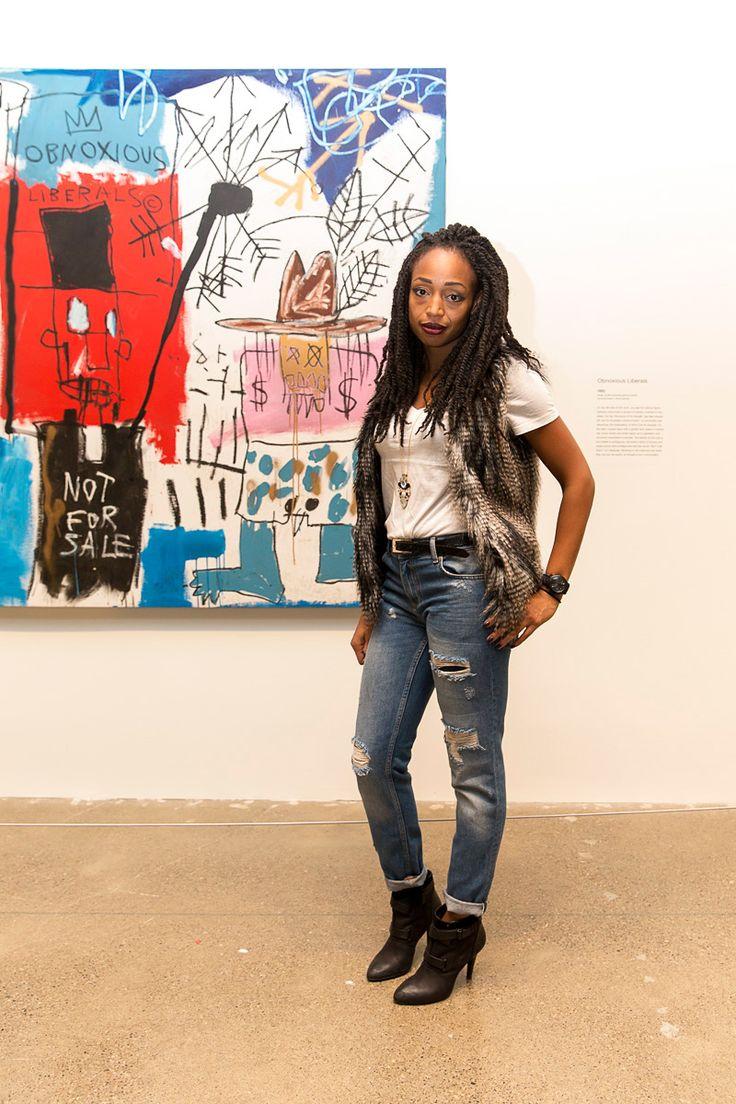 FASHION Magazine | AGO First Thursdays: Inside the Basquiat-themed bash with Grandmaster Flash and stylish gallery goers