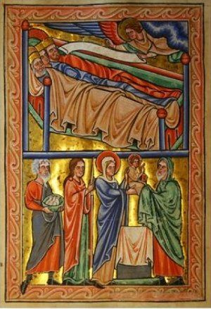 18 Psalter of Saint Louis