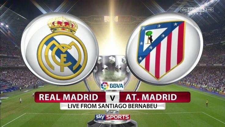 Лига чемпионов. 1/2 финала. Реал Мадрид - Атлетико. Прямая трансляция на...