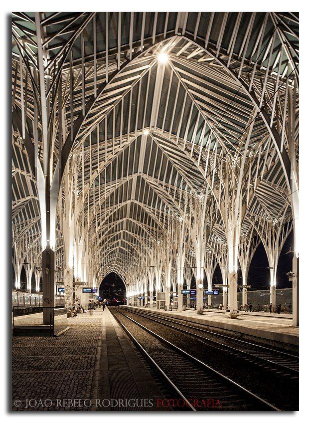 Gare do Oriente train / subway station, Lisbon #Portugal
