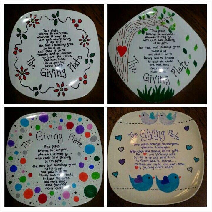 Easy to make Giving Plates  @Jaime Stahl