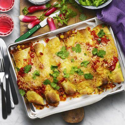 Burrito med kyckling