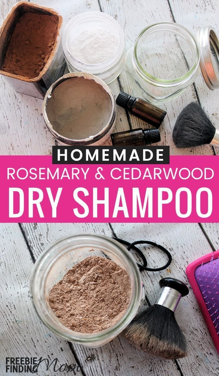 No Time To Wash Your Hair No Problem Whip Up This Easy Homemade Dry Shampoo Recipe This Rosemary And Cedarwo Homemade Dry Shampoo Shampoo Recipe Dry Shampoo
