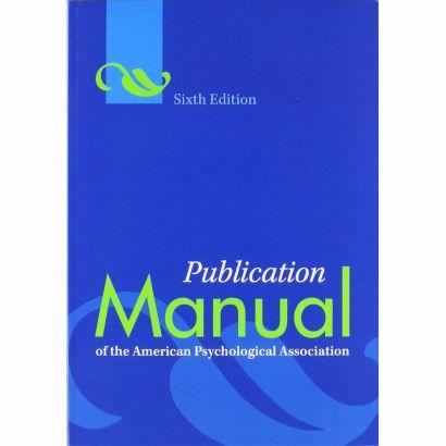 apa 6th edition download free