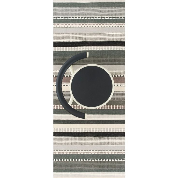 The modern Hibiscus runner rug in grey by Linie Design is hand-woven in India by quality craftsmen. This contemporary runner rug has a strong Scandinavian designer look and uses the very popular bands and lines in subtle colours and shades of grey and green. The Hibiscus runner also uses some geometric shapes to give extra interest in its design. Hibiscus is available in 2 colours and 2 sizes.