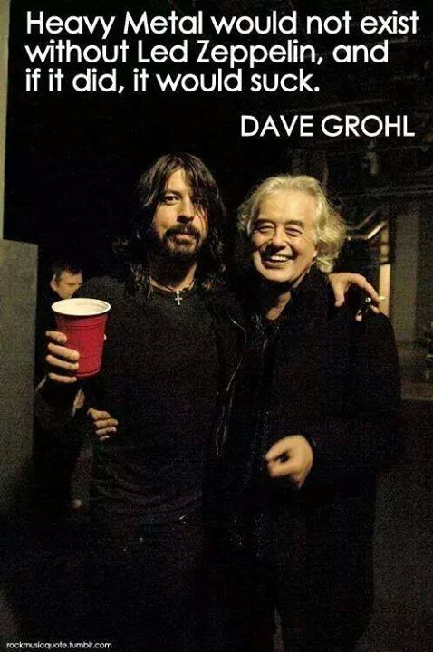 Jimmy Page & Dave Grohl together is too much to take                                                                                                                                                      More