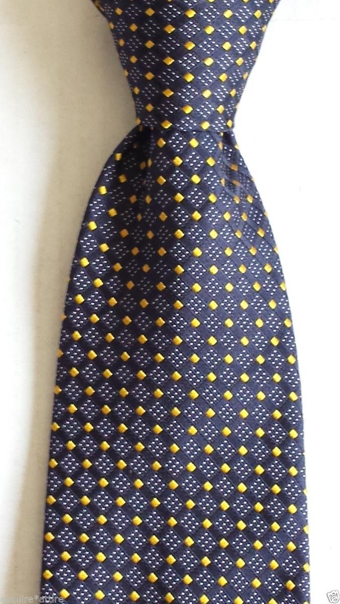 #Versace men dress neck silk tie made in Italy blue (no tags) visit our ebay store at  http://stores.ebay.com/esquirestore