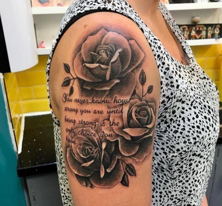 Half Sleeve Tattoos Pics Halfsleevetattoos Shoulder Tattoos For