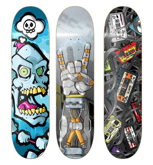 77 Best Design | Skateboard Designs Images On Pinterest | Skateboard Design,  Skate Decks And Skateboard Decks