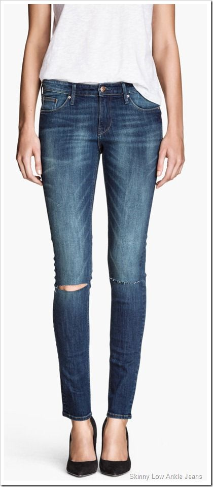 Jeans skinny fit revel low levi's bleu fonce