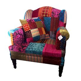 268 Best Images About Patchwork Furniture On Pinterest