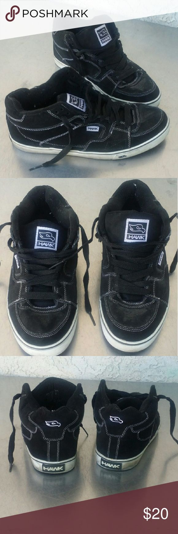 Mens Tony Hawk Shoes? Black, men's shoes by Tony Hawk , size 12 , medium width, in good condition. Tony Hawk Shoes