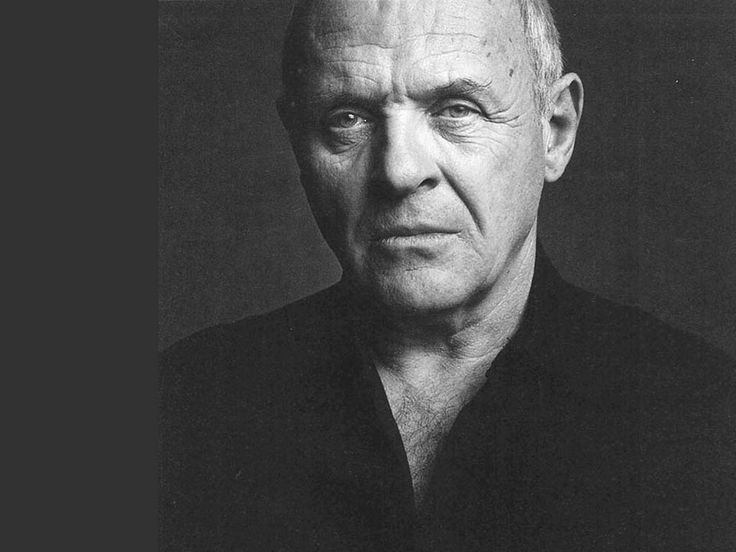Anthony Hopkins. You could see what his thoughts were. His gaze was so full of meaning that all he had to do was look at you. Silence of the Lambs, Remains of the Day, Nixon.