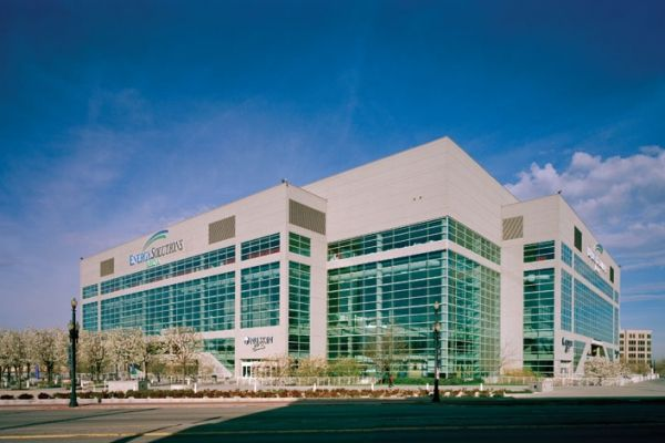 Energy Solutions Arena (Formerly The Delta Center) Salt Lake City, Utah (Copyright 2007 Richer Images Paul Richer) #EnergySolutionsArena #UrbanLantern #MultiuseArena #Architecture