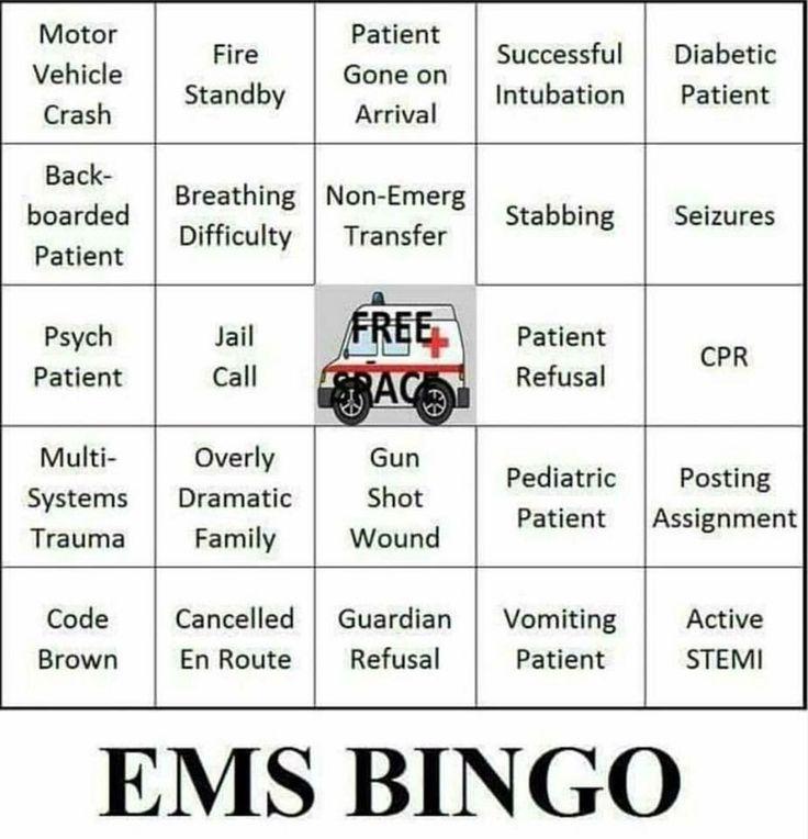 Ems bingo