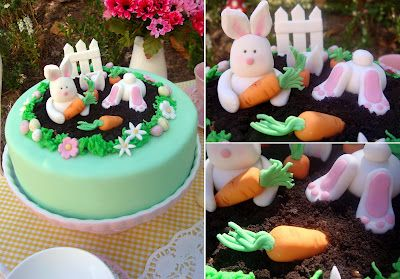Cheeky Bunny Easter Cake