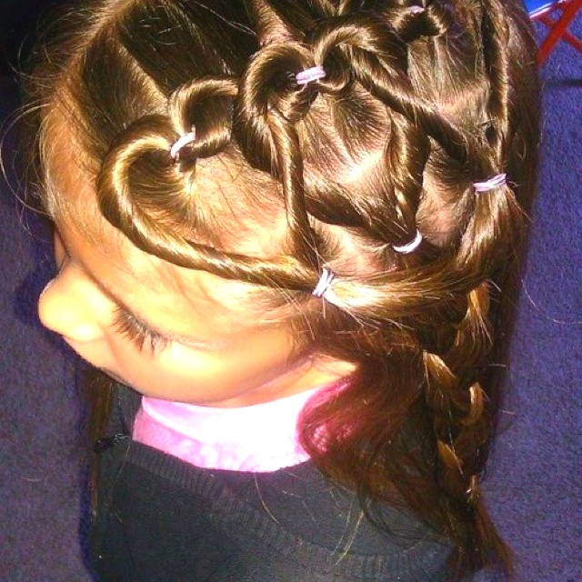 Cute & fun hair for little girls