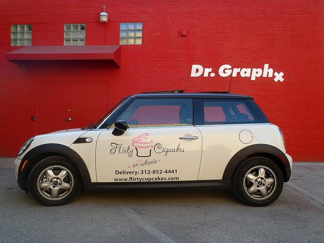 Flirty Cupcakes | 'On Mini Wheels' by Dr. Graphx, via Flickr