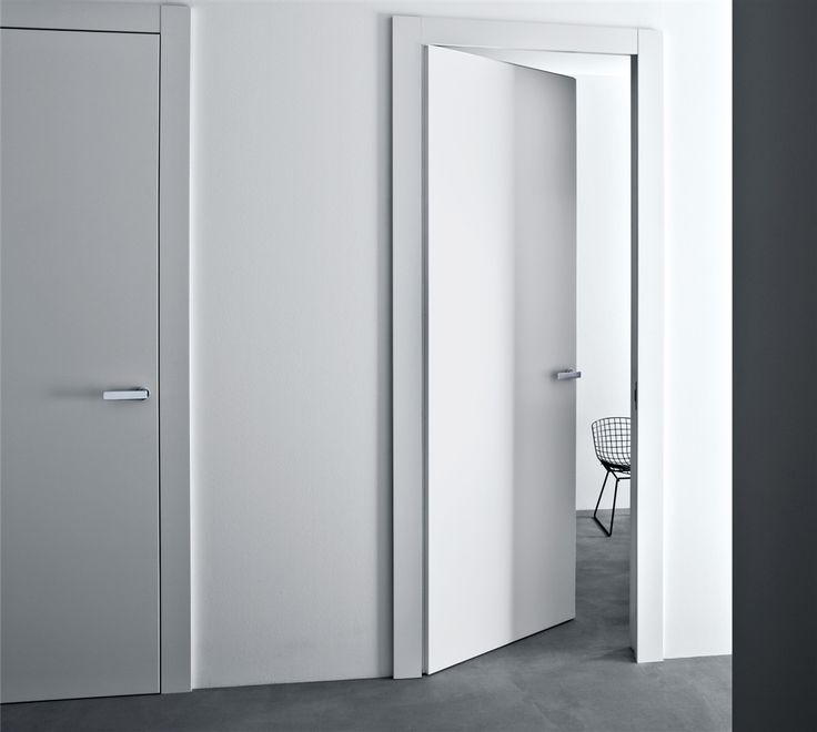 Invisible Hinges Contemporary Door Trim Bella Lualdi