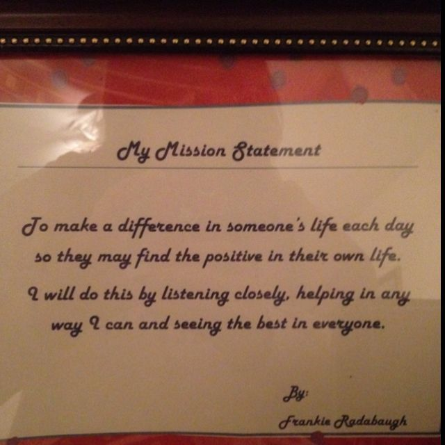 Personal statement quotes