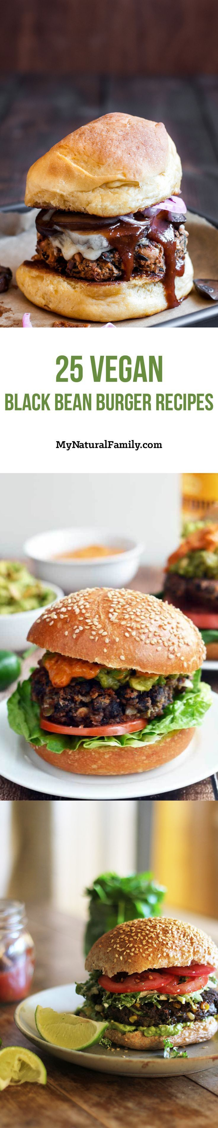 I love this huge selection of Vegan black bean burger recipes. There is so much variety and so many of them look so good. I want to try #22 today.