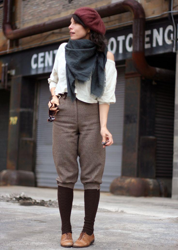 Amarcord Vintage Knick Knock Knickerbockers Wear