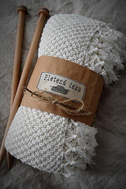 Danao / Pletená deka so strapcami